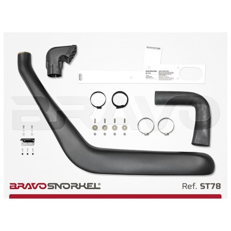 BRAVO SNORKEL TOYOTA LAND CRUISER 70 SERIES HZ / FZ (1985 - 2007)