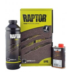 RAPTOR- Liner Black 0,95L KIT
